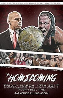 RESULTADOS - AAW Homecoming 2017 (17/03/2017)