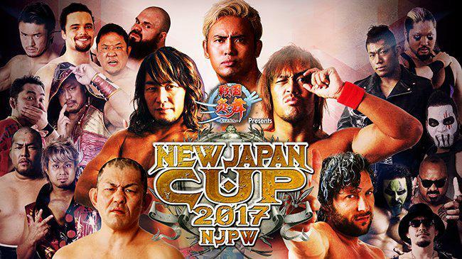 RESULTADOS - NJPW New Japan Cup 2017 (19 e 20/03/2017)